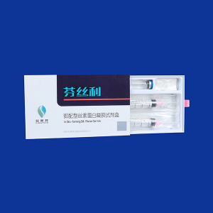 In situ kujundamine Silk fibroiin Gel Kits